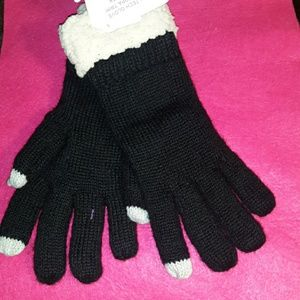 Smart phone compatible gloves. New with tags.